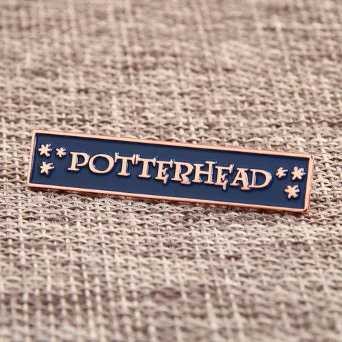 Potter Head Custom Pins