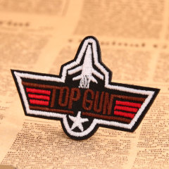 TOP GUN Embroidered Patches