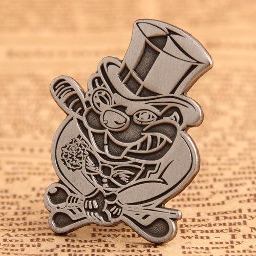 Funny Businessman Custom Pins