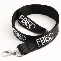 FBISD Black Lanyards