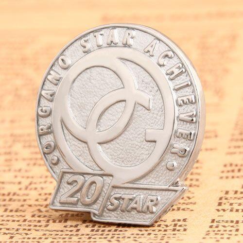 20 Star Custom Pins
