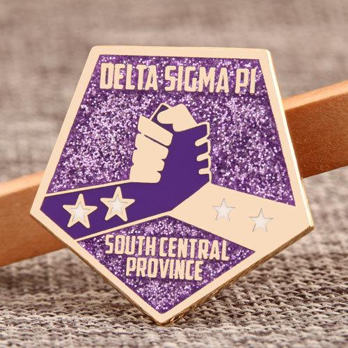 Custom Delta Sigma Pi Pins
