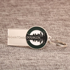 Downtown Doubler Custom Keychains
