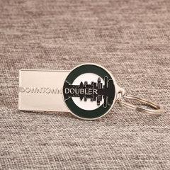 Downtown Doubler Custom Keychains
