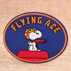 Snoopy Custom Made Patches