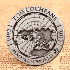 25TH Commemorative Custom Pins