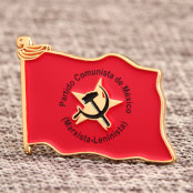 Party Flag Custom Pins