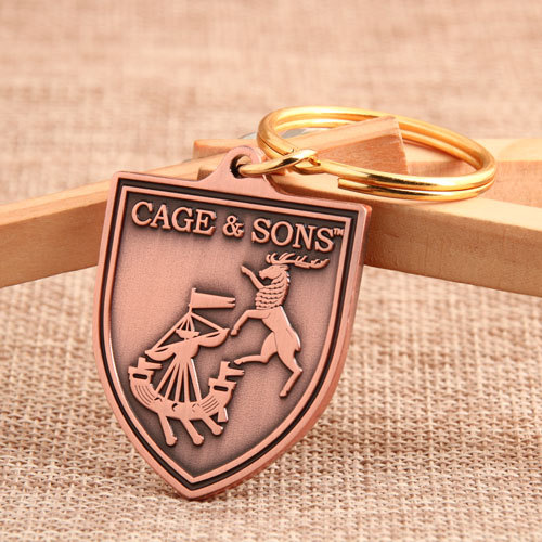 Cage and Sons Custom Keychains