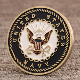 US Navy Department of Defense Coins
