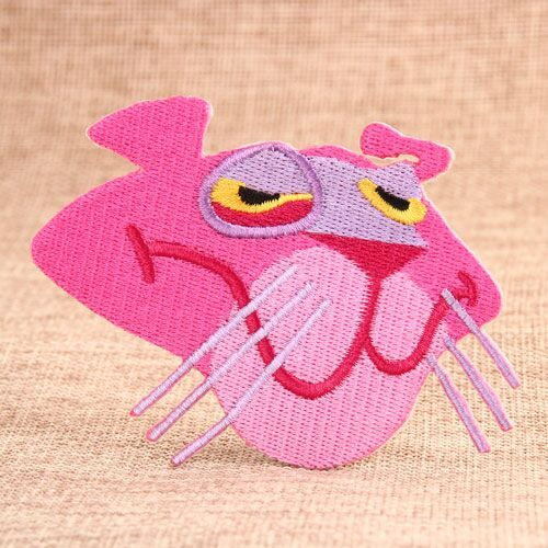 Pink Panther Custom Embroidered Patches