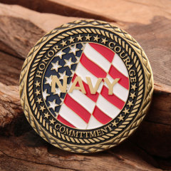 US Navy Veteran Challenge Coins