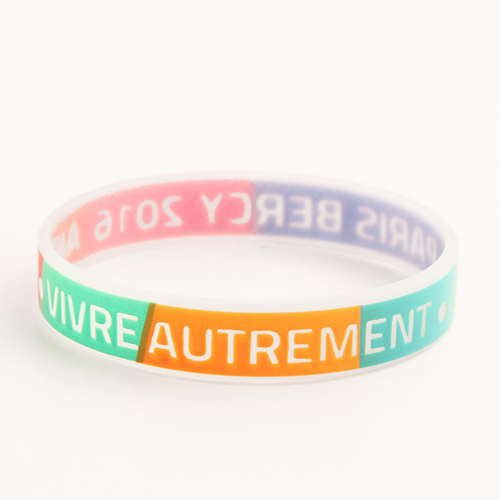 Colorful Printed Wristbands