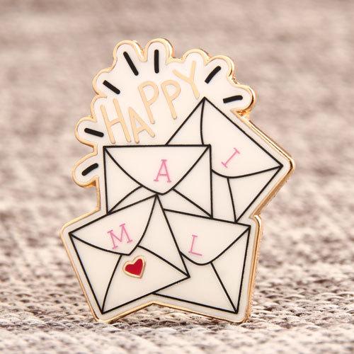 Custom Mail Lapel Pins