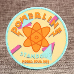 Standout Powerling Woven Patches