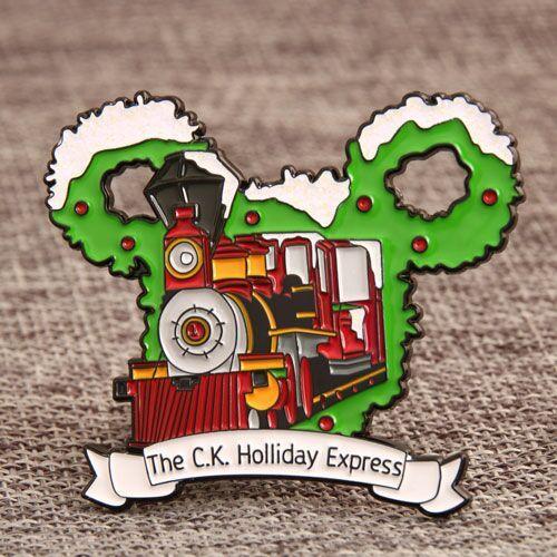 Holliday Express Custom Pins