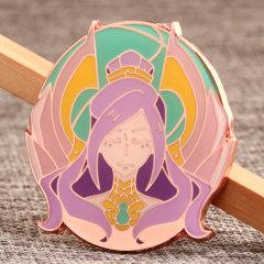 Custom Magic Queen Pins