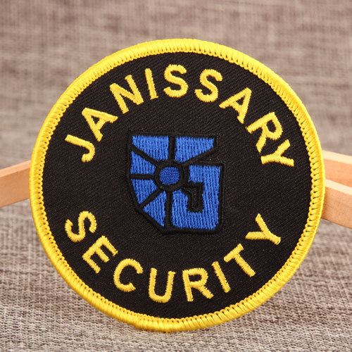 Janissary Security Embroidered Patches