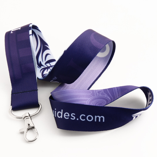 Trial Guides Dye-sublimated Lanyards