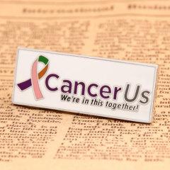 Cancer Us Custom Pins