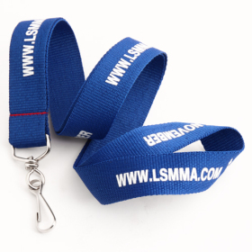 LSMMA Polyester Lanyards