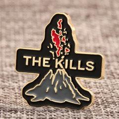 Volcano Killer Custom Pins