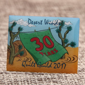 Custom Quilt Guild Pins