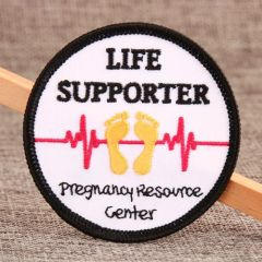Life Support Embroidered Patches
