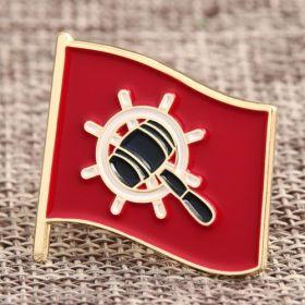 Custom Flag Lapel Pins