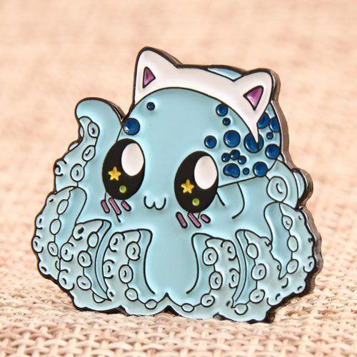 Custom Octopus Pins