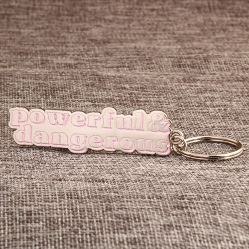 Letters Custom Keychains