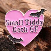 Goth GF Enamel Pins