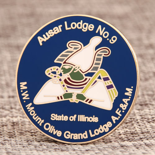 Grand Lodge Custom Lapel Pins