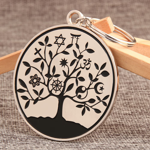 Symbol Tree Custom Keychains