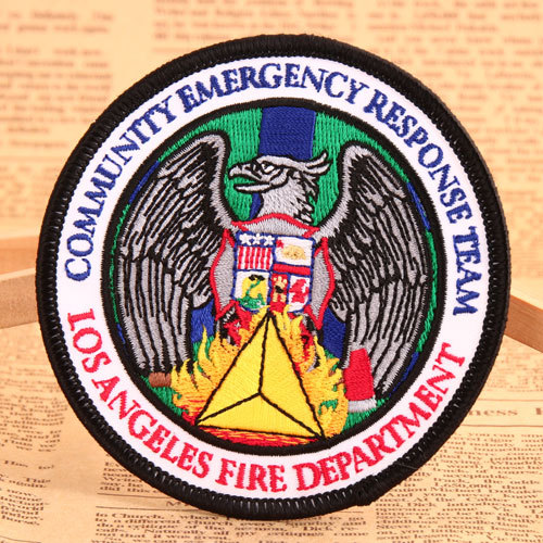 CERT Embroidered Patches No Minimum