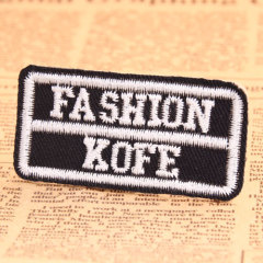 Fashion Kofe Embroidered Patches