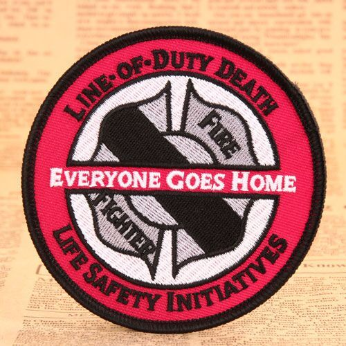 Everyone Goes Home Make Custom Patches