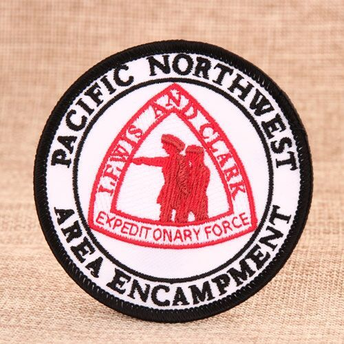 Lewis And Clark Custom Embroidered Patches