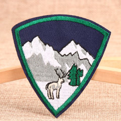 The Snow Deer Custom Patches