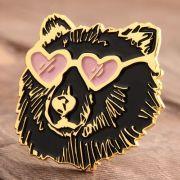 Custom Bear Enamel Pins