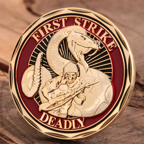 First Strike Deadly Challenge Coins