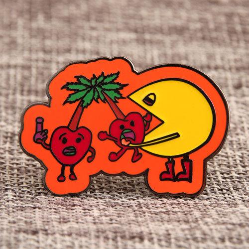 Pac-Man Custom Enamel Pins