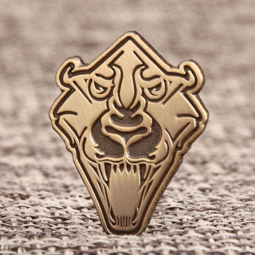 Custom Tiger Lapel Pins