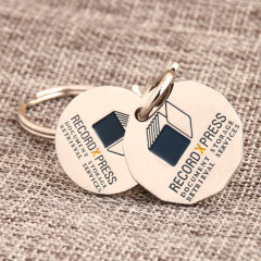 Record Xpress Custom Keychains