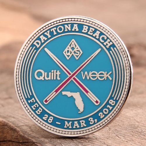 QAS Quilt Week Custom Lapel Pins