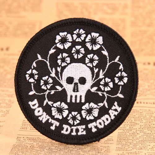 Life Custom Embroidered Patches No Minimum