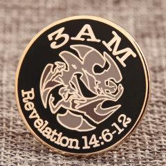 3AM Cheap Custom Pins