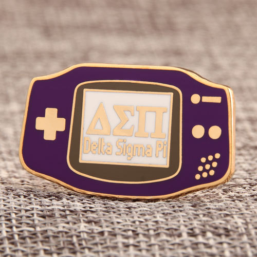 Delta Sigma Pi Custom Metal Pins