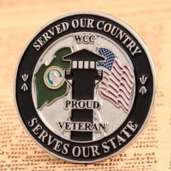 Proud Veteran Soft Enamel Pins
