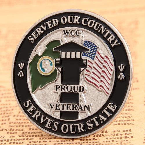 Proud Veteran Soft Enamel Pins