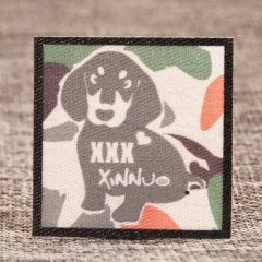 Cheap Dog Woven Patches